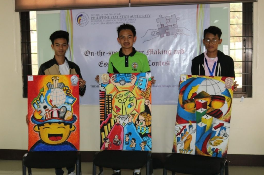 2019 PSA Civil Registration Month Poster Making Winners - Amianan